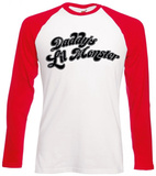Long Sleeve: Suicide Squad- Daddy's Little Monster T-Shirts