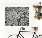 PinCity Wall Map Diary - London Gadget