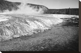 Firehold River, Yellowstone National Park, Wyoming, ca. 1941-1942 Stretched Canvas Print by Ansel Adams