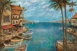 Mediterranean Splendor Posters by Ruane Manning
