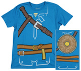 Zelda: Breath of the Wild - Costume T-Shirt T-shirts