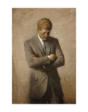 JFK Prints by Aaron Shikler