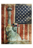 Statue Of America Is Great Again Print