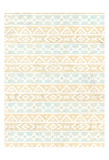 Golden Day Pattern Print