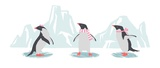 Minimalist Penguin Trio, Girls Posters by  Color Me Happy