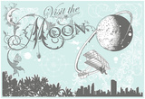 Visit The Moon, Today Poster