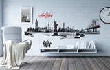New York Illustrated Wall Decal