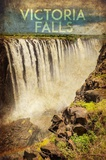 Vintage Victoria Falls, Livingstone, Africa Prints by  Take Me Away