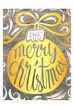 Golden Christmas Prints