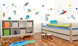 Space Kids Wall Decal