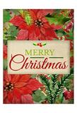 Poinsettia Christmas Posters