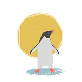 Minimalist Penguin, Boys Part II Prints by  Color Me Happy