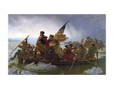 Washington Crossing the Delaware (cropped) Prints by Emanuel Gottlieb Leutze