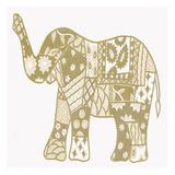 Elephant Gold Prints