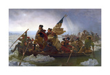 Washington Crossing the Delaware (cropped) Posters by Emanuel Gottlieb Leutze