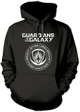 Hoodie: Guardians Of The Galaxy- Official Member Seal Pullover con cappuccio