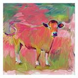 Pink Calf Prints