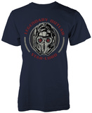 Guardians Of The Galaxy- Starlord Legendary Outlaw Badge T-Shirts