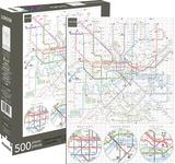 London Underground 500 Piece Jigsaw Puzzle Jigsaw Puzzle