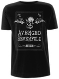 Avenged Sevenfold- Face Card T-Shirts