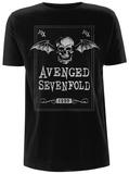 Avenged Sevenfold- Face Card Tshirt
