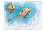 Clowfish Trio Posters