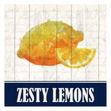 Zesty Lemon Print