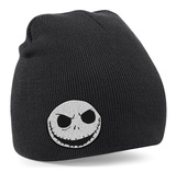 Beanie: The Nightmare Before Christmas- Smiling Jack Patch Beanie