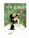 Spring Awakening - The New Yorker Cover, March 20, 2017 Regular Giclee Print by Tomer Hanuka