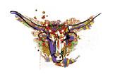 Mandala Water Bull Prints