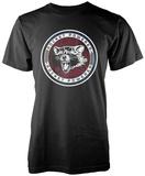 Guardians Of The Galaxy- Rocket Powered Badge Shirts