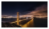 Golden Gate To Stars Giclee Print by Javier De La