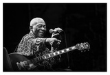 B.B. King Giclee Print by Alice Lorenzini