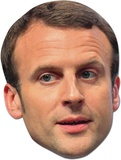 Emmanuel Macron Maske