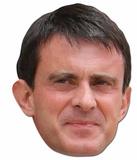 Manuel Valls Maske