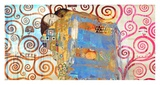 Klimt's Embrace 2.0 Giclee Print by Eric Chestier