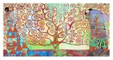 Klimt's Tree of Life 2.0 Giclee Print by Eric Chestier