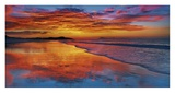 Sunset, North Island, New Zealand Giclee Print by Frank Krahmer