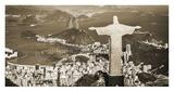 Overlooking Rio de Janeiro, Brazil Giclee Print by  Pangea Images