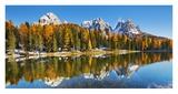 Lago Antorno and Misurina, Dolomites, Italy Giclee Print by Frank Krahmer