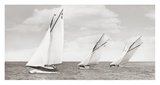 Sloops racing, 1926 Giclee Print by  Anonymous