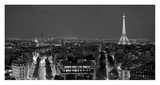 Paris at night Giclee Print by Vadim Ratsenskiy