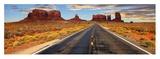 Road to Monument Valley, Arizona Giclee Print by Vadim Ratsenskiy