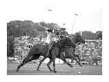 Polo players, Argentina Giclee Print by  Anonymous
