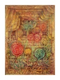 Spiral Flowers Giclee Print by Paul Klee