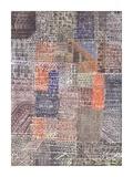Structural II Reproduction procédé giclée par Paul Klee