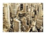 Skycrapers in Manhattan, NYC Giclee Print by Vadim Ratsenskiy