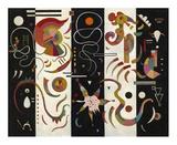 Striped (Raye) Giclee Print by Wassily Kandinsky