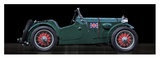 MC race car Giclee Print by  Gasoline Images