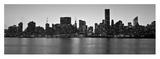 Midtown Manhattan skyline, NYC Giclee Print by Michel Setboun